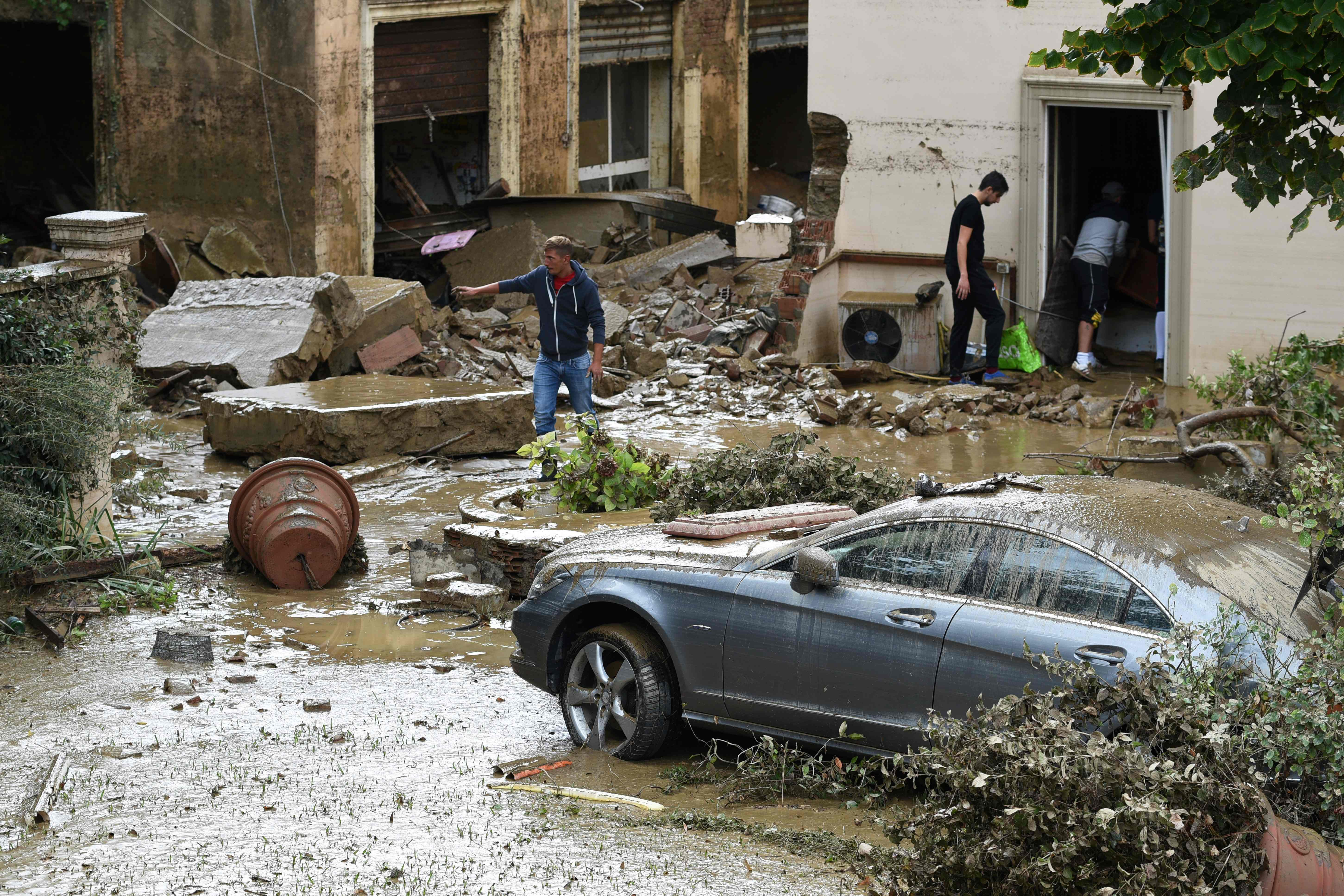 ITALY-WEATHER-RAINSTORMS-FLOOD