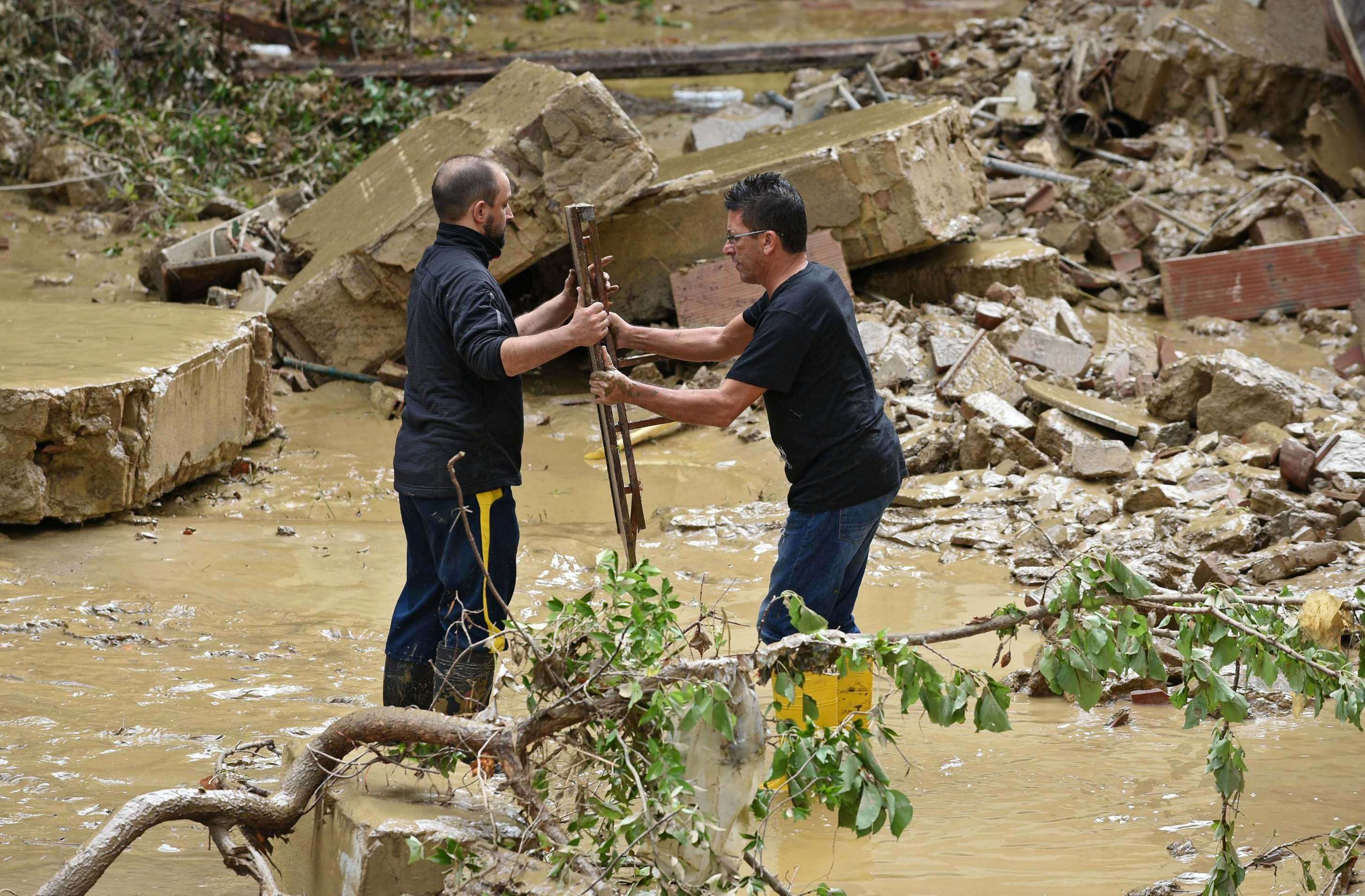 At least five dead in flooding in Livorno